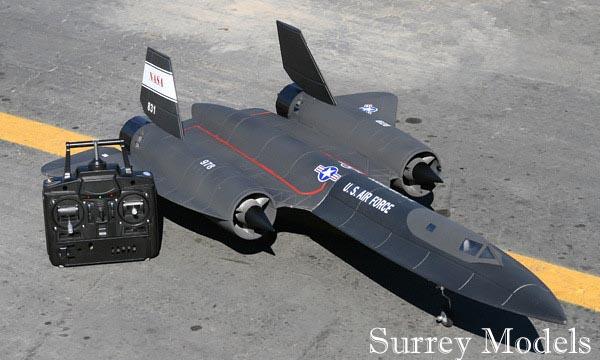 RC SR71 Black Bird