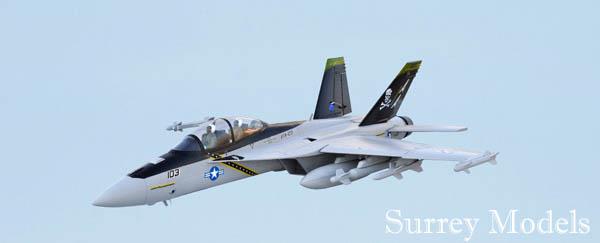 RC Surrey Models F18 Jet