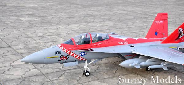 Remote Control F18 Super Hornet Jet