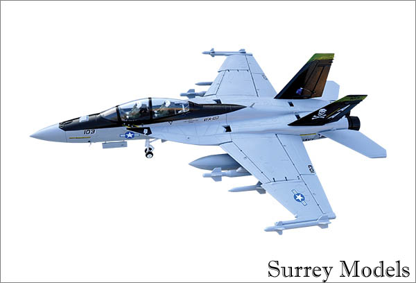 RC LX F18 Electric EDF Jet