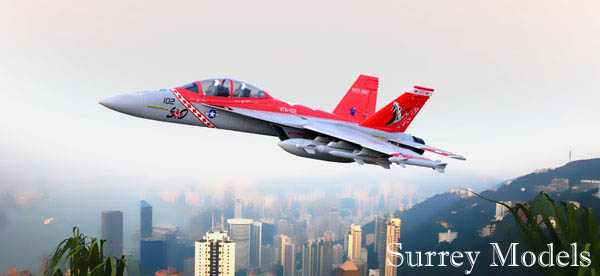 Radio Controlled Surrey Models F18 Jet